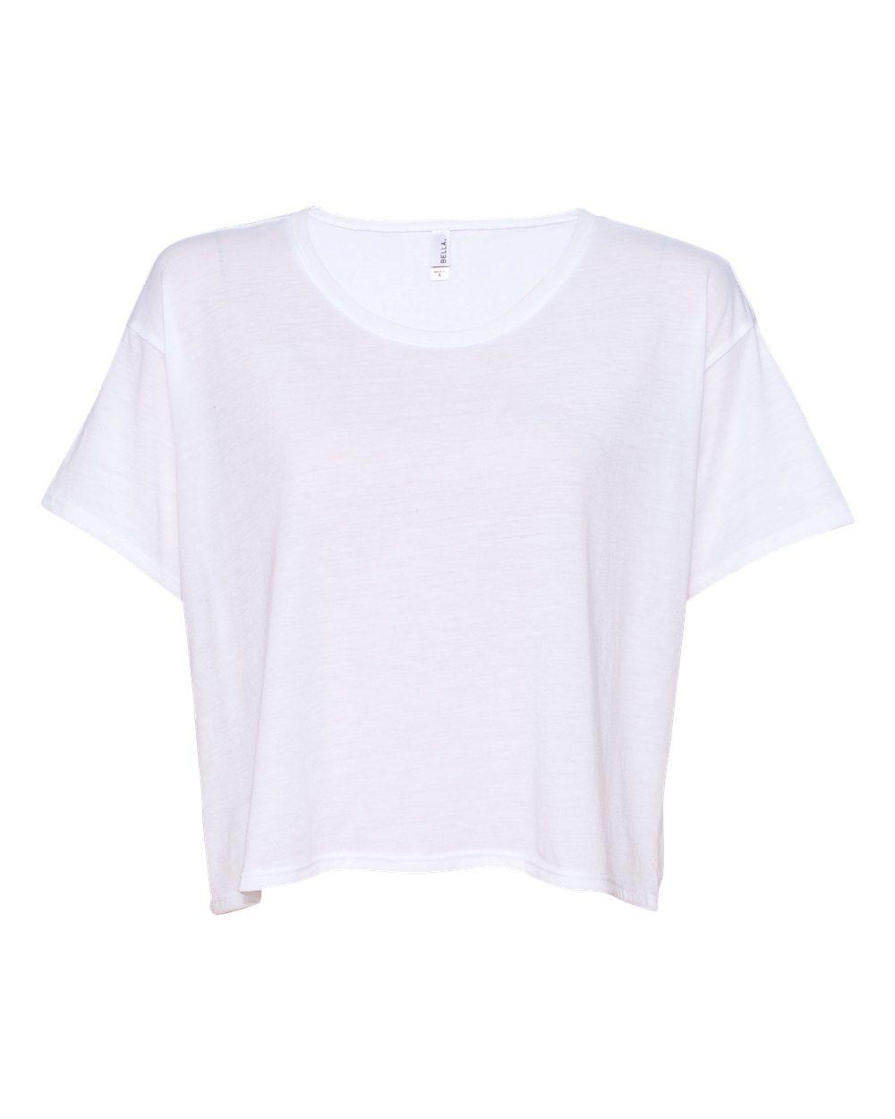 Bella   Canvas - Womens Flowy Boxy T-Shirt-B8881 | eBay