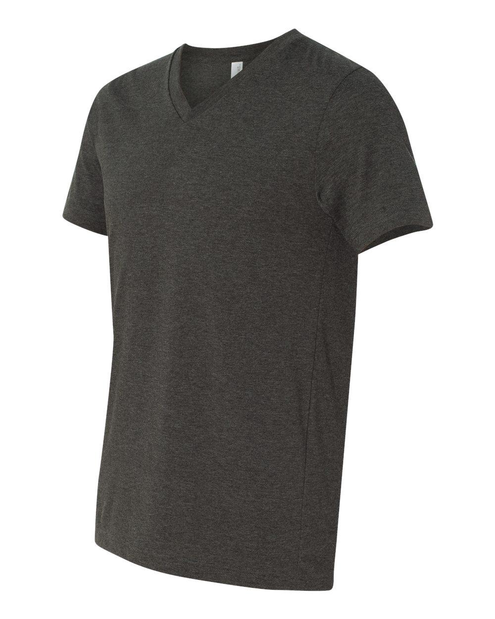 Bella-Canvas-Men-039-s-Jersey-Short-Sleeve-V-Neck-T-Shirt-3005-XS-3XL thumbnail 109