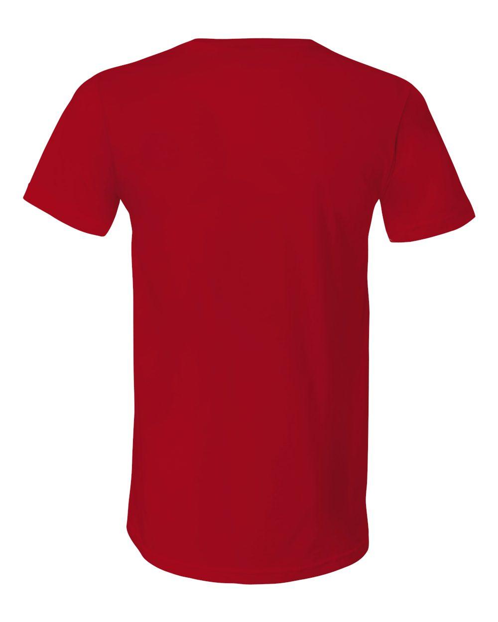 Bella-Canvas-Men-039-s-Jersey-Short-Sleeve-V-Neck-T-Shirt-3005-XS-3XL thumbnail 113