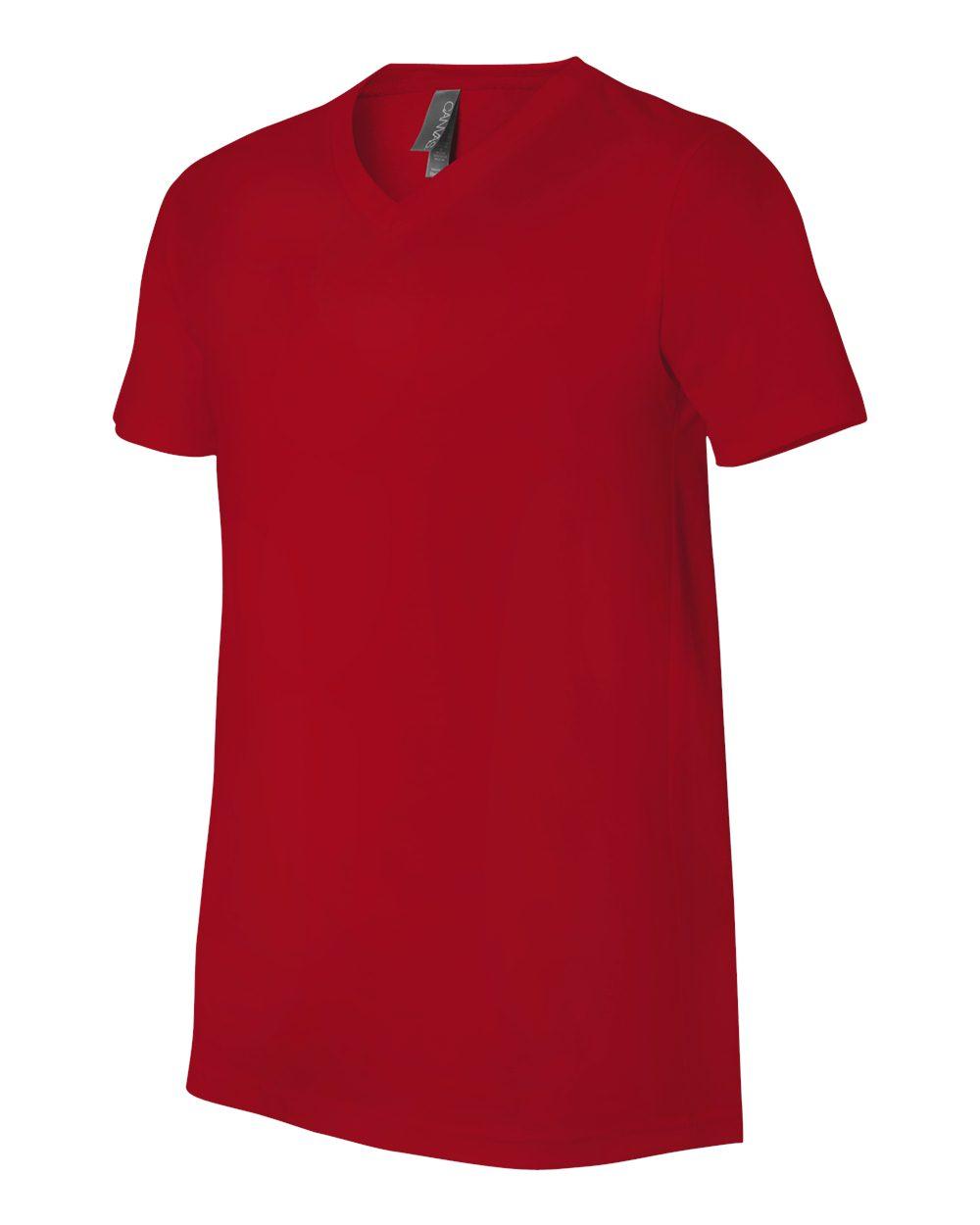 Bella-Canvas-Men-039-s-Jersey-Short-Sleeve-V-Neck-T-Shirt-3005-XS-3XL thumbnail 112