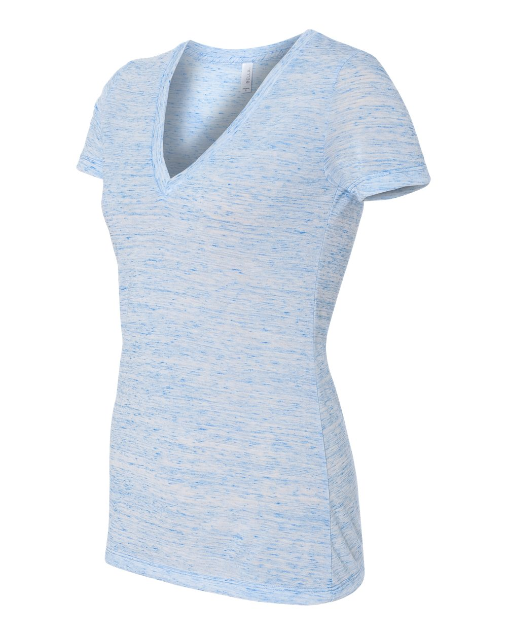 Bella-Canvas-Women-039-s-Jersey-Short-Sleeve-Deep-V-Neck-T-Shirt-B6035-S-2XL thumbnail 36