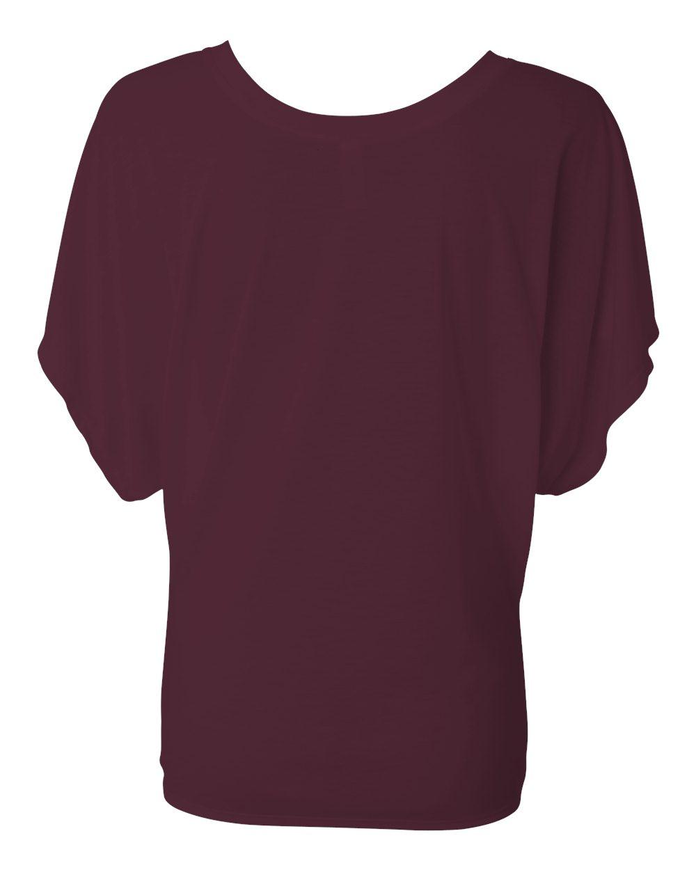 Bella-Canvas-Women-039-s-Flowy-Draped-Sleeve-Dolman-T-Shirt-8821-S-2XL thumbnail 13