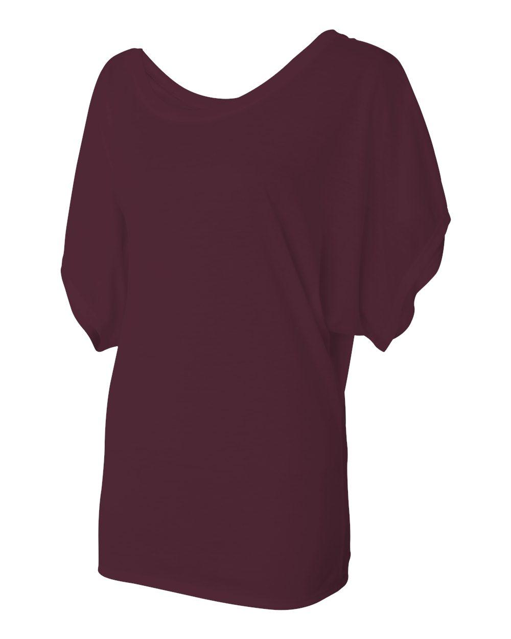 Bella-Canvas-Women-039-s-Flowy-Draped-Sleeve-Dolman-T-Shirt-8821-S-2XL thumbnail 12