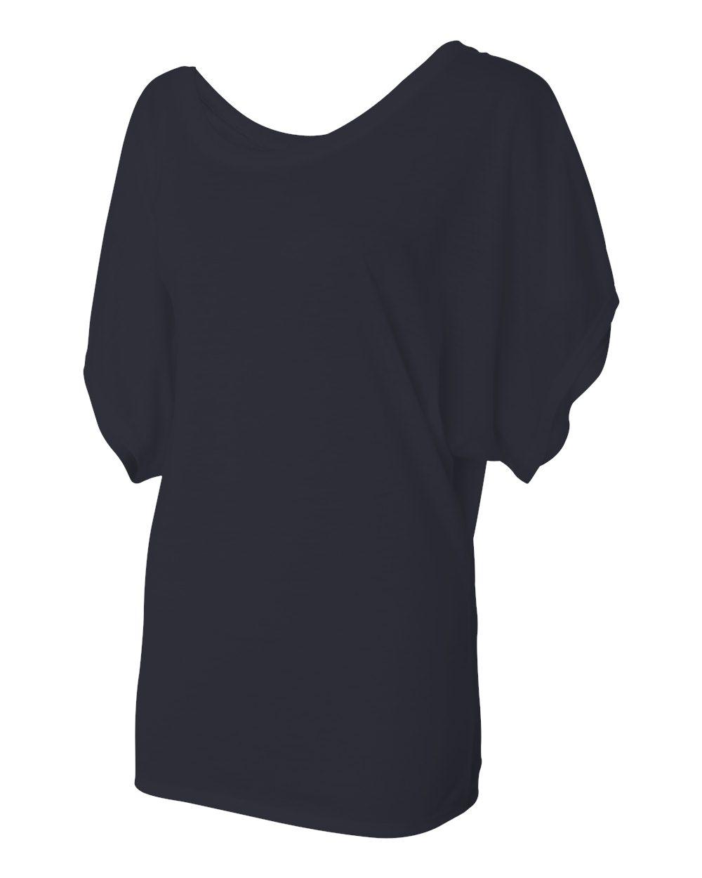 Bella-Canvas-Women-039-s-Flowy-Draped-Sleeve-Dolman-T-Shirt-8821-S-2XL thumbnail 24