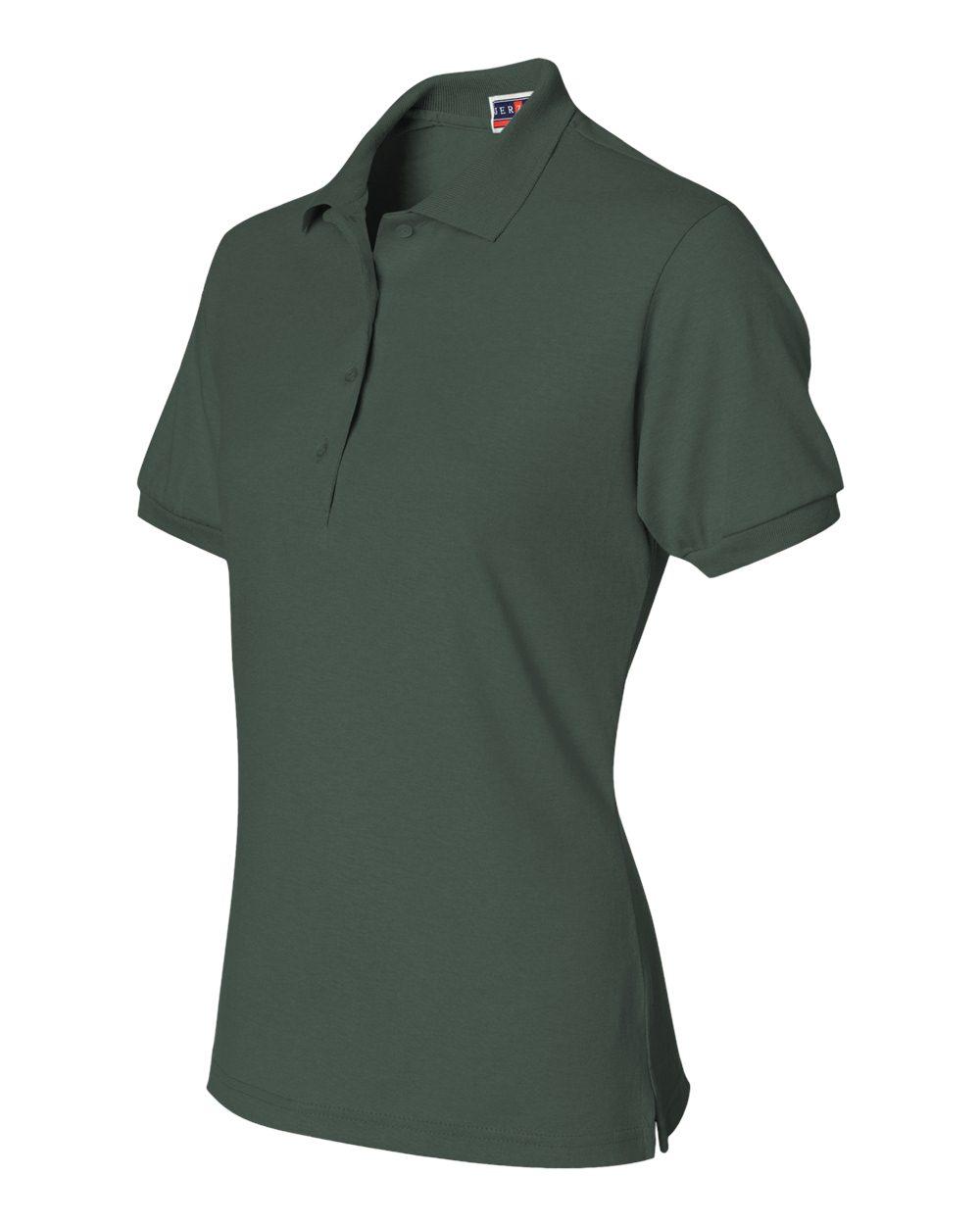 Jerzees-Womens-5-6-oz-50-50-Jersey-Polo-with-Spot-Shield-437W-Size-S-2XL thumbnail 25