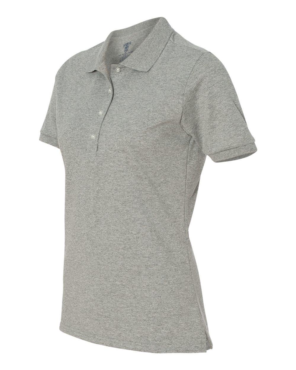 Jerzees-Womens-5-6-oz-50-50-Jersey-Polo-with-Spot-Shield-437W-Size-S-2XL thumbnail 48