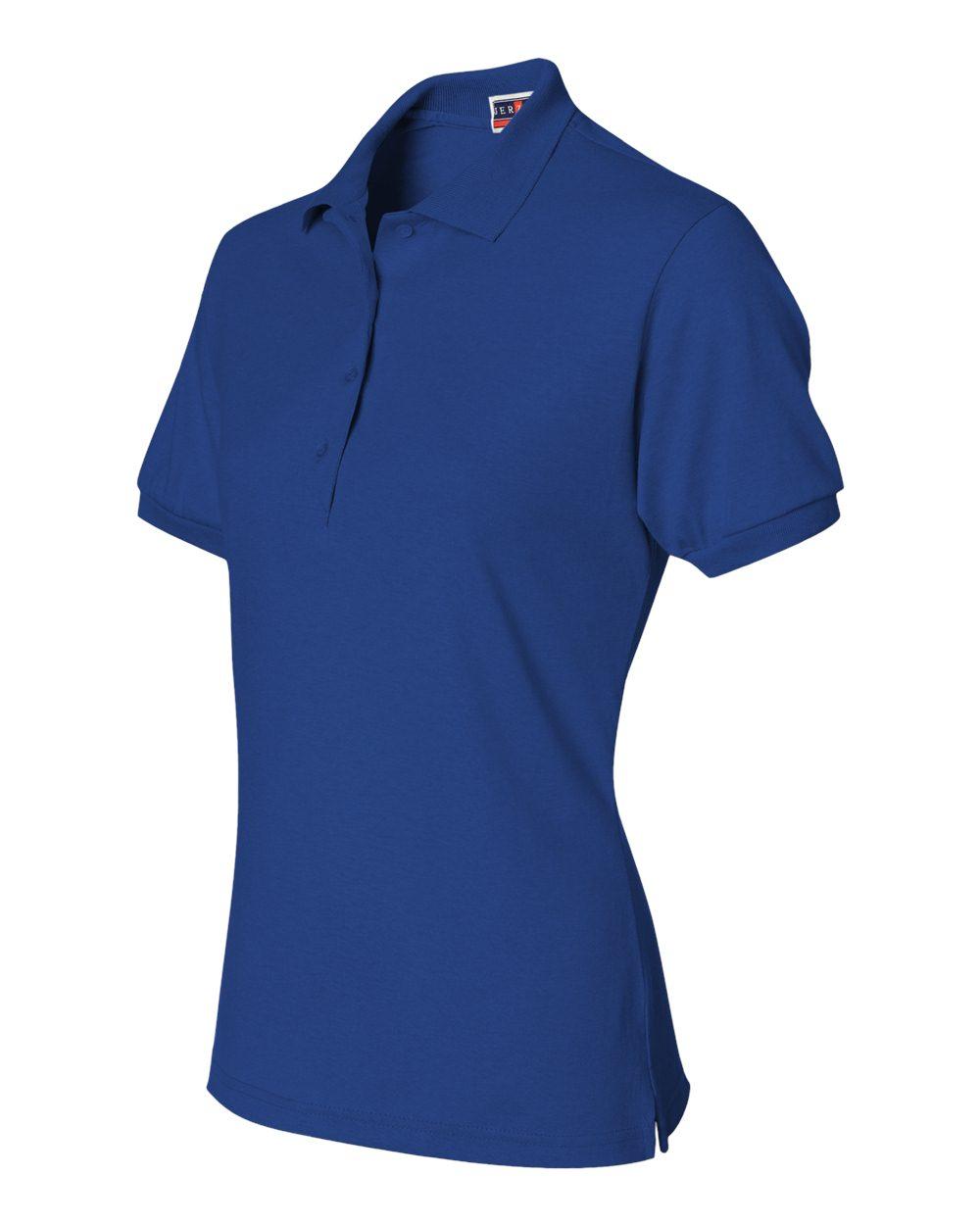 Jerzees-Women-039-s-5-6-oz-50-50-Jersey-Polo-with-SpotShield-437W-S-2XL thumbnail 9