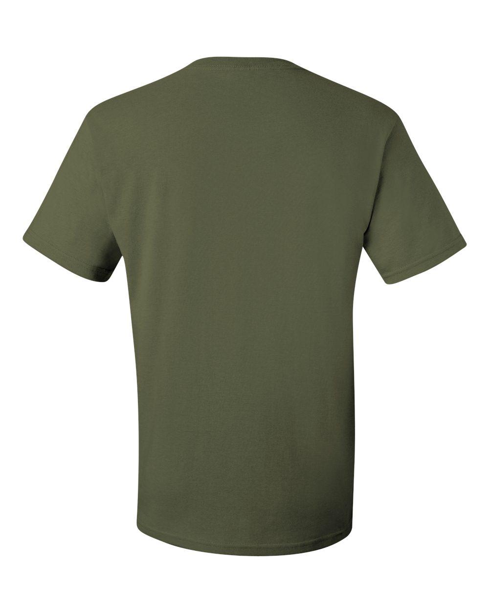 Jerzees-Men-039-s-5-6-oz-50-50-Heavyweight-Blend-T-Shirt-29M-S-4XL thumbnail 13