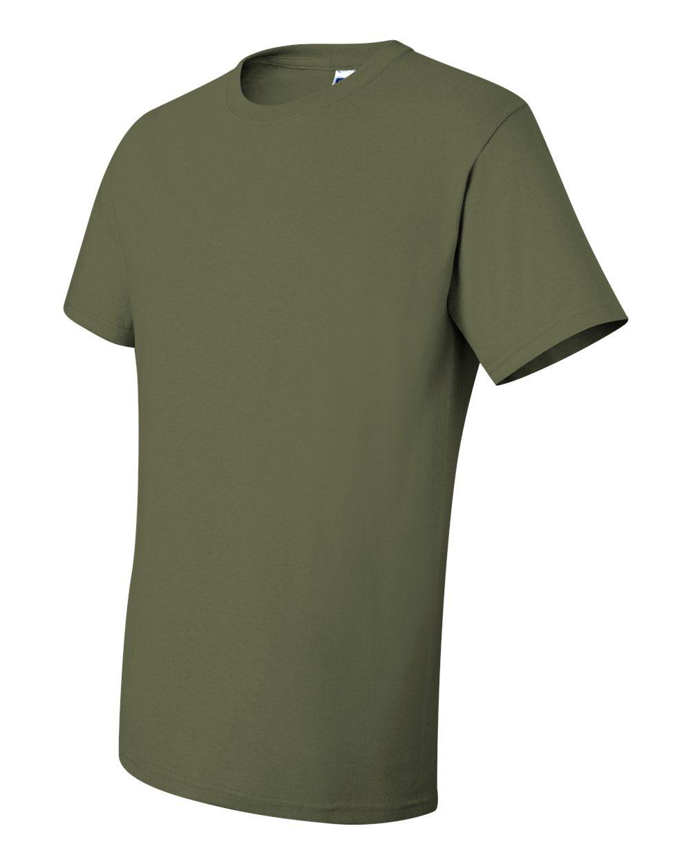 Jerzees-Men-039-s-5-6-oz-50-50-Heavyweight-Blend-T-Shirt-29M-S-4XL thumbnail 12