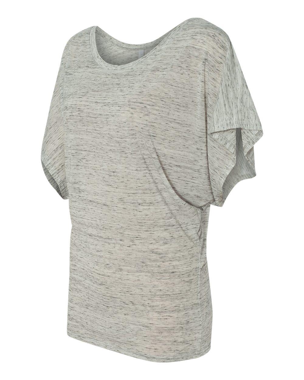 Bella-Canvas-Women-039-s-Flowy-Draped-Sleeve-Dolman-T-Shirt-8821-S-2XL thumbnail 9