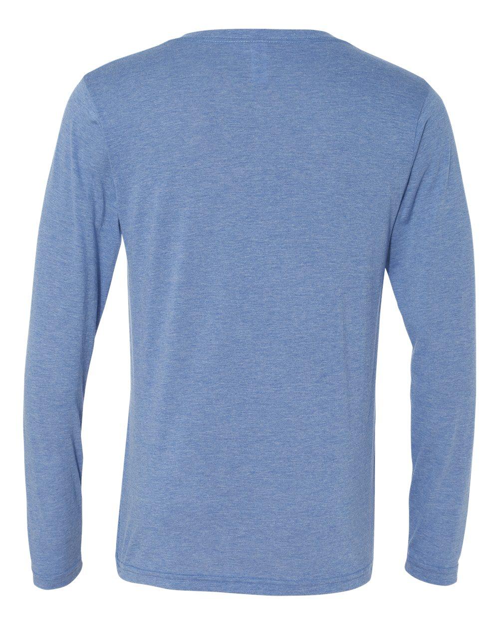 Bella-Canvas-Unisex-Jersey-Long-Sleeve-V-Neck-T-Shirt-3425-XS-2XL thumbnail 19