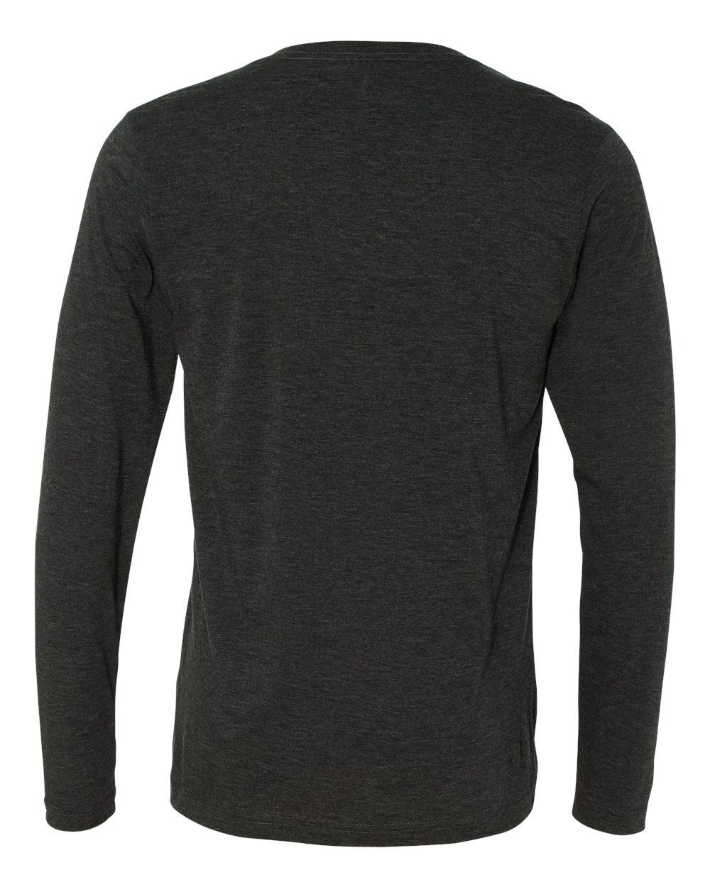 Bella-Canvas-Unisex-Jersey-Long-Sleeve-V-Neck-T-Shirt-3425-XS-2XL thumbnail 4