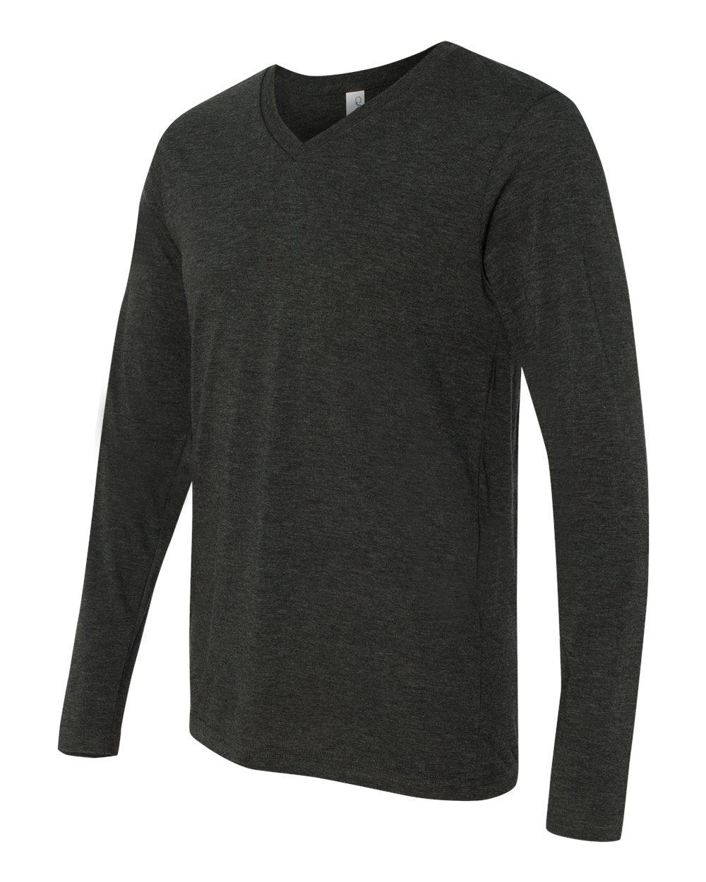Bella-Canvas-Unisex-Jersey-Long-Sleeve-V-Neck-T-Shirt-3425-XS-2XL thumbnail 3