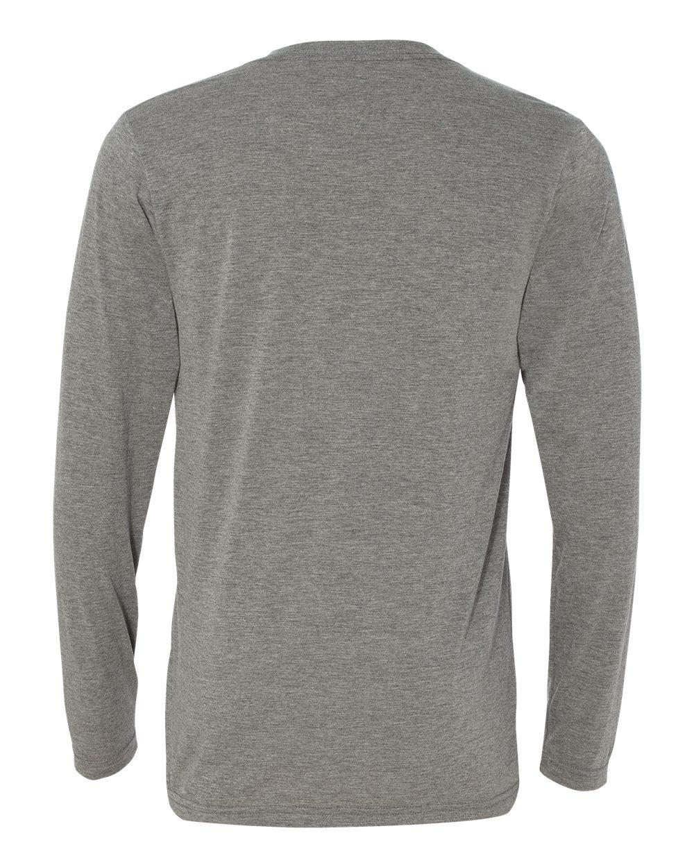 Bella-Canvas-Unisex-Jersey-Long-Sleeve-V-Neck-T-Shirt-3425-XS-2XL thumbnail 7