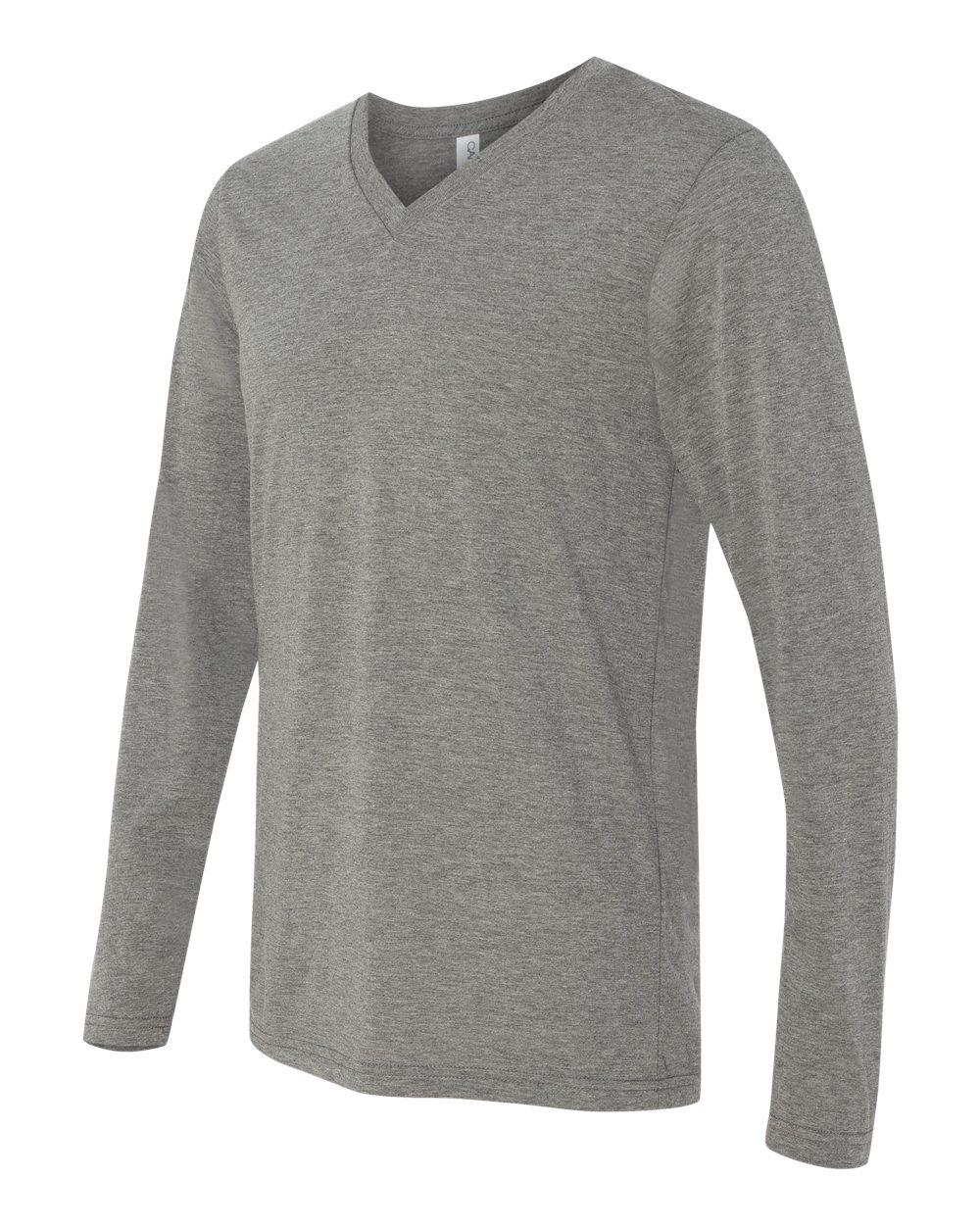 Bella-Canvas-Unisex-Jersey-Long-Sleeve-V-Neck-T-Shirt-3425-XS-2XL thumbnail 6