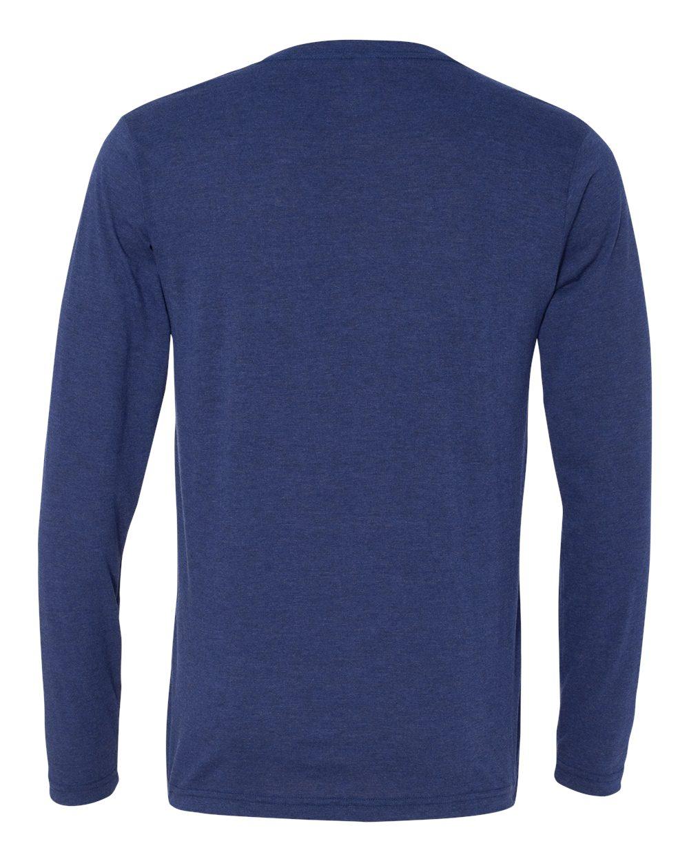 Bella-Canvas-Unisex-Jersey-Long-Sleeve-V-Neck-T-Shirt-3425-XS-2XL thumbnail 10
