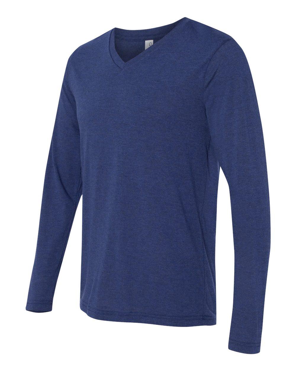Bella-Canvas-Unisex-Jersey-Long-Sleeve-V-Neck-T-Shirt-3425-XS-2XL thumbnail 9