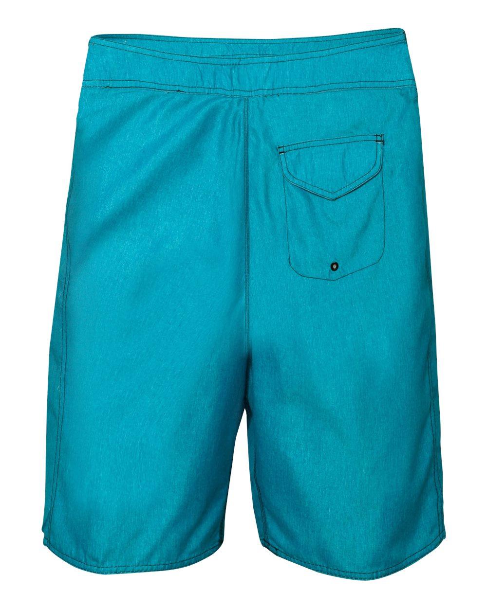 Burnside-Men-039-s-Heathered-Board-Shorts-B9305-30-40 thumbnail 4