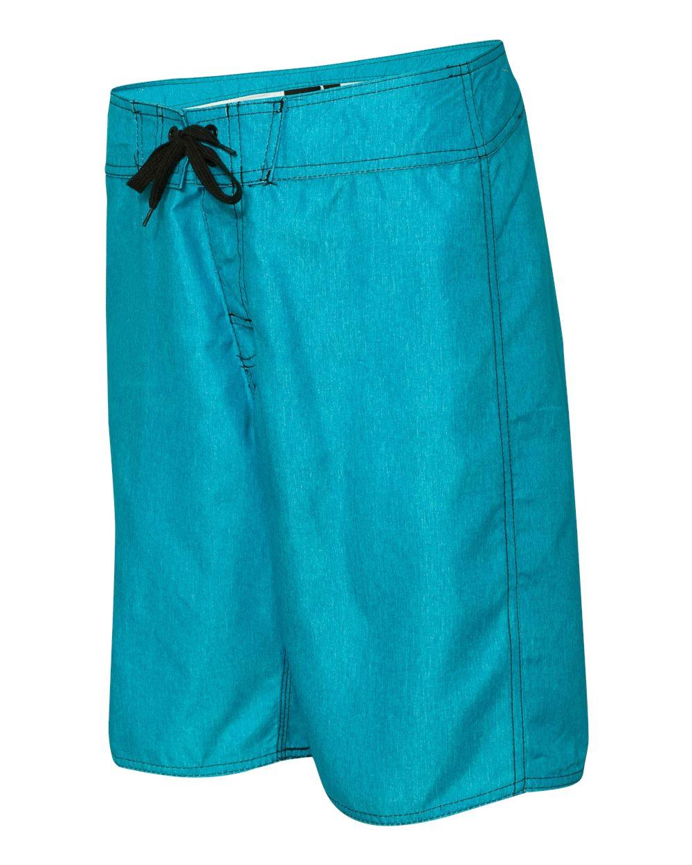 Burnside-Men-039-s-Heathered-Board-Shorts-B9305-30-40 thumbnail 3