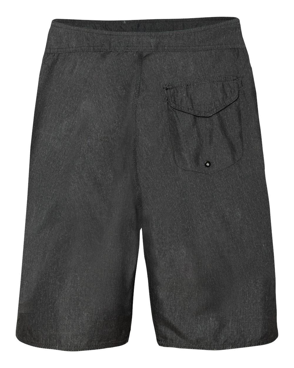 Burnside-Men-039-s-Heathered-Board-Shorts-B9305-30-40 thumbnail 7