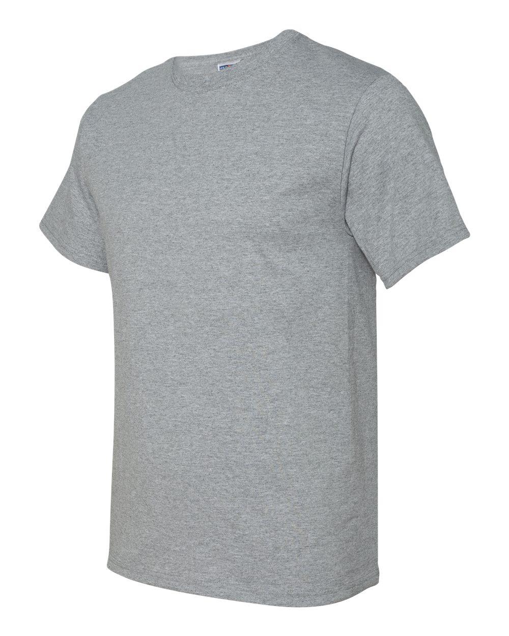 Jerzees-Men-039-s-5-6-oz-50-50-Heavyweight-Blend-T-Shirt-29M-S-4XL thumbnail 3