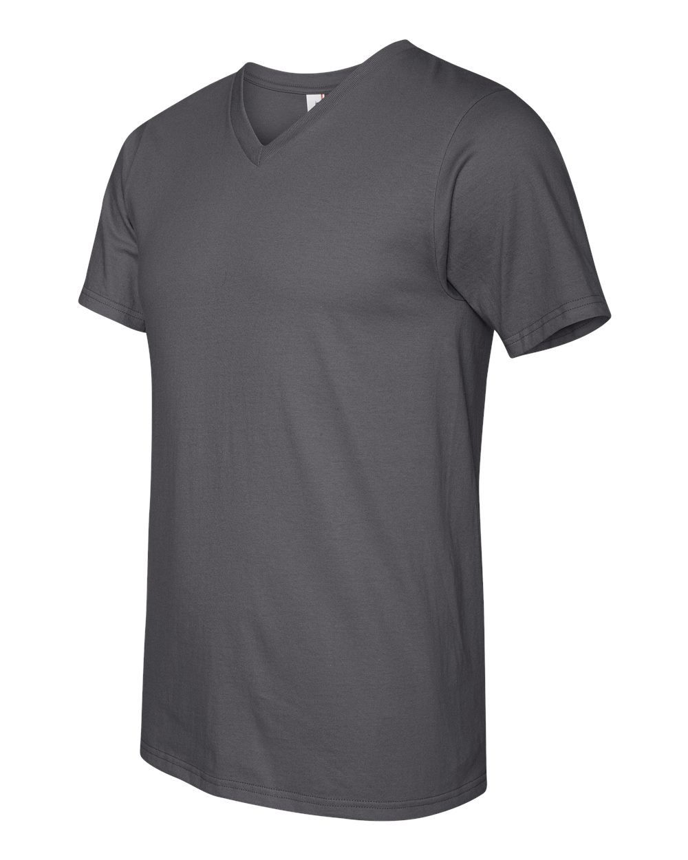 Anvil-Men-039-s-Lightweight-V-Neck-T-Shirt-982-S-3XL thumbnail 6