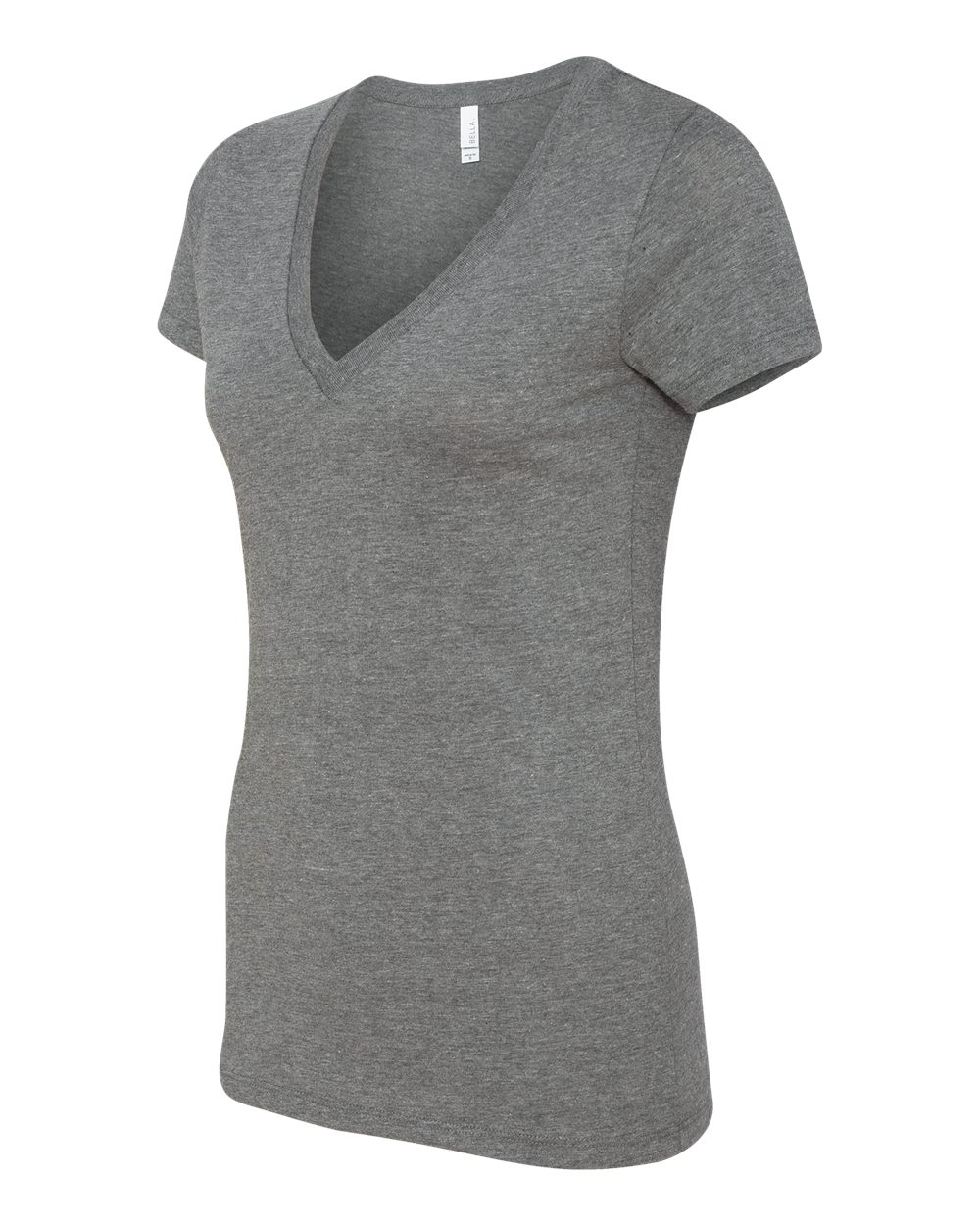Bella-Canvas-Women-039-s-Jersey-Short-Sleeve-Deep-V-Neck-T-Shirt-B6035-S-2XL thumbnail 48