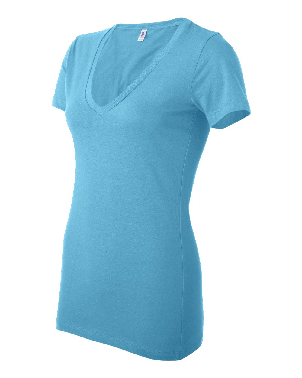 Bella-Canvas-Women-039-s-Jersey-Short-Sleeve-Deep-V-Neck-T-Shirt-B6035-S-2XL thumbnail 15