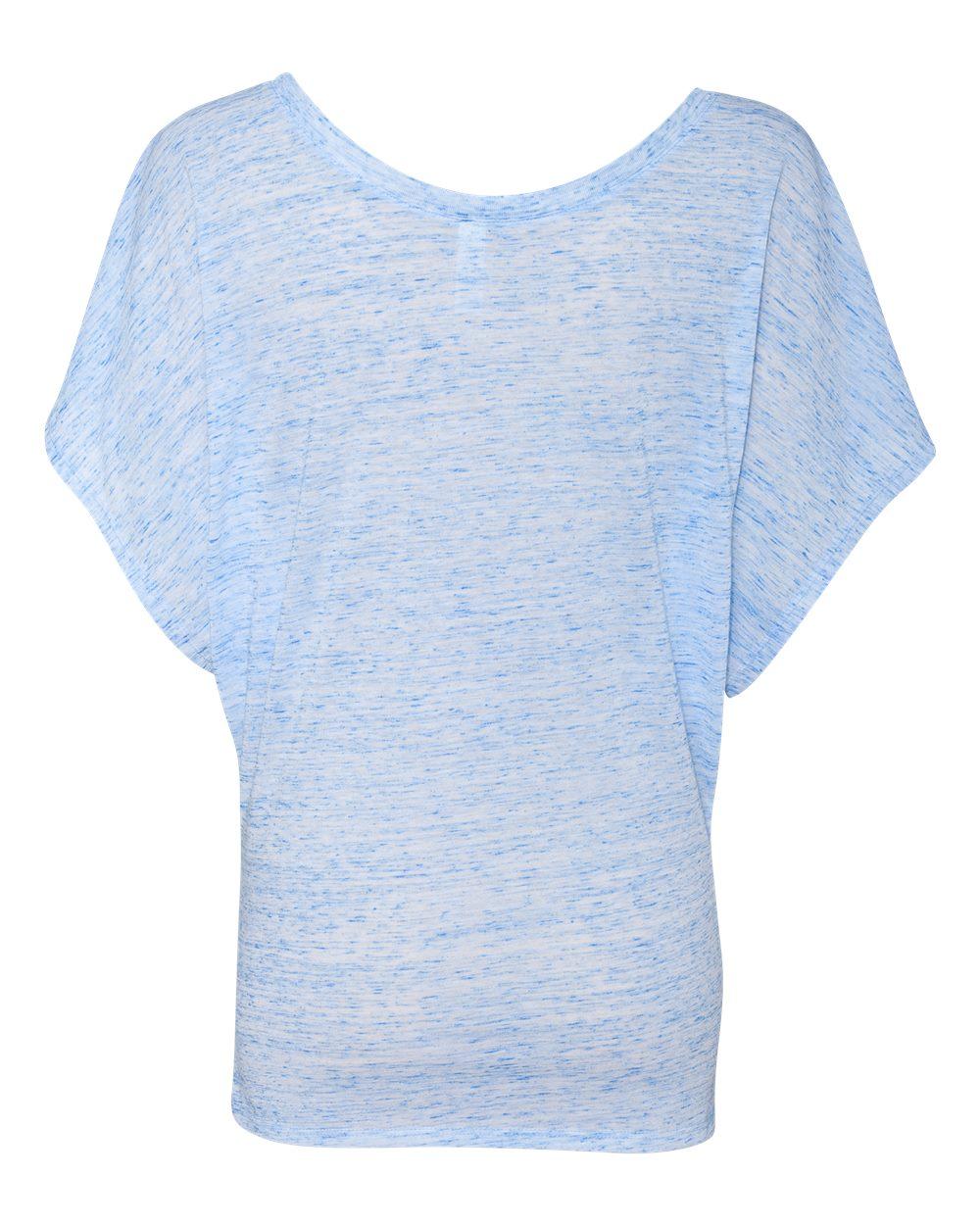 Bella-Canvas-Women-039-s-Flowy-Draped-Sleeve-Dolman-T-Shirt-8821-S-2XL thumbnail 19