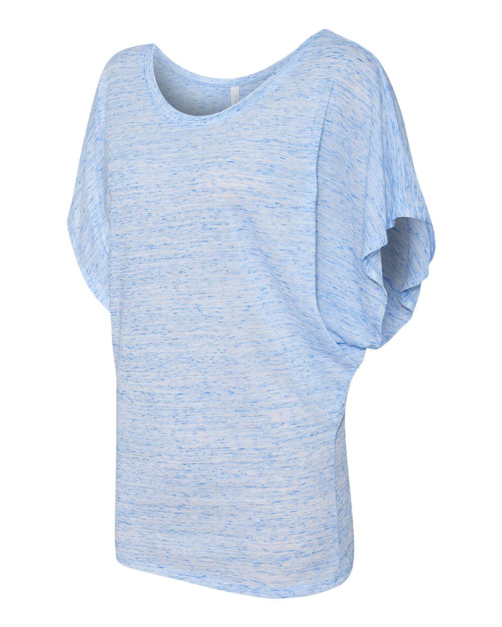 Bella-Canvas-Women-039-s-Flowy-Draped-Sleeve-Dolman-T-Shirt-8821-S-2XL thumbnail 18