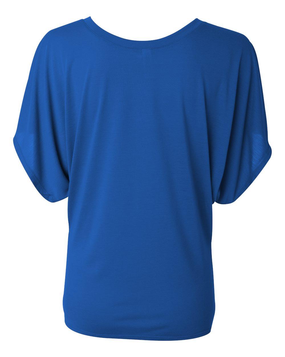 Bella-Canvas-Women-039-s-Flowy-Draped-Sleeve-Dolman-T-Shirt-8821-S-2XL thumbnail 37