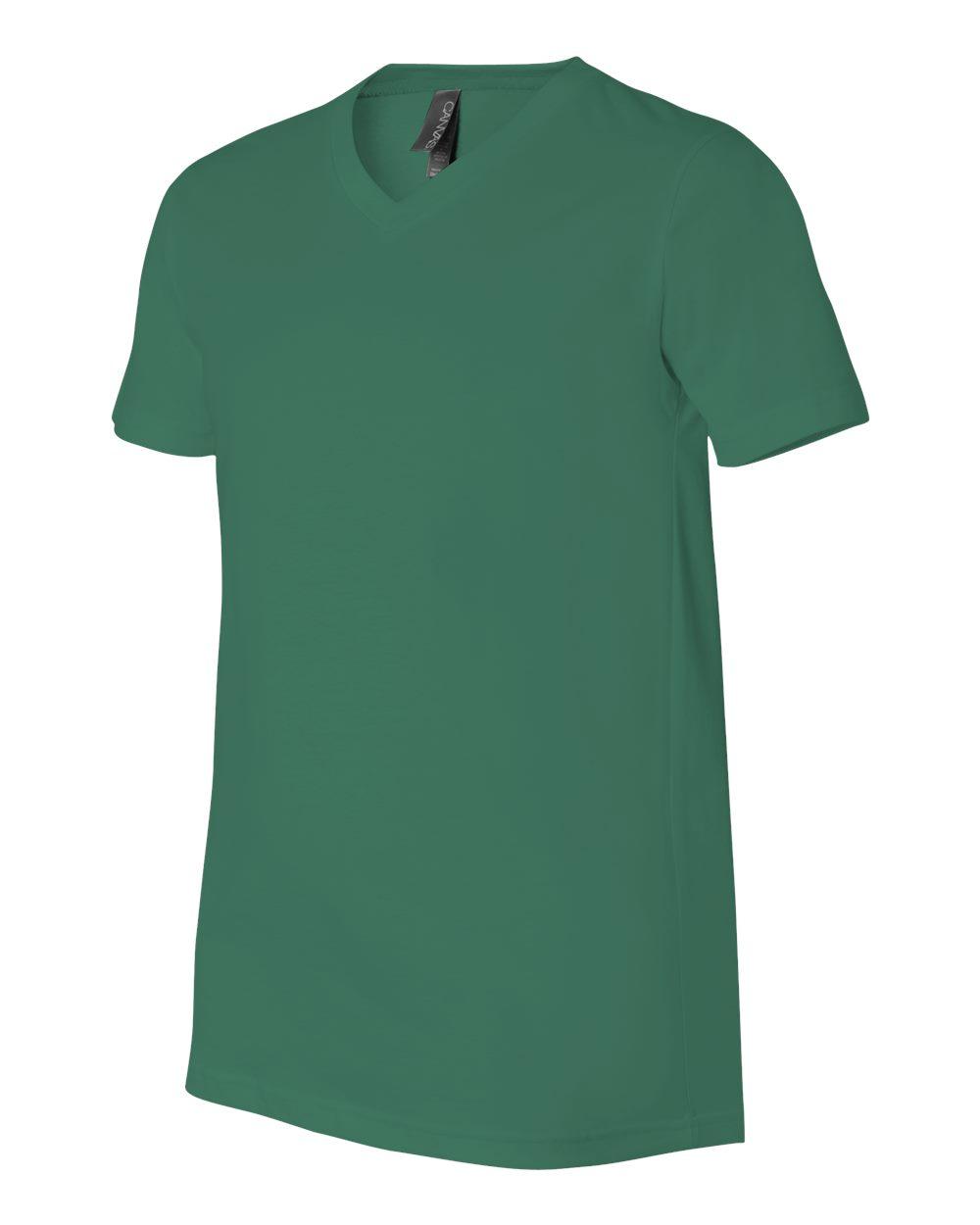 Bella-Canvas-Men-039-s-Jersey-Short-Sleeve-V-Neck-T-Shirt-3005-XS-3XL thumbnail 39