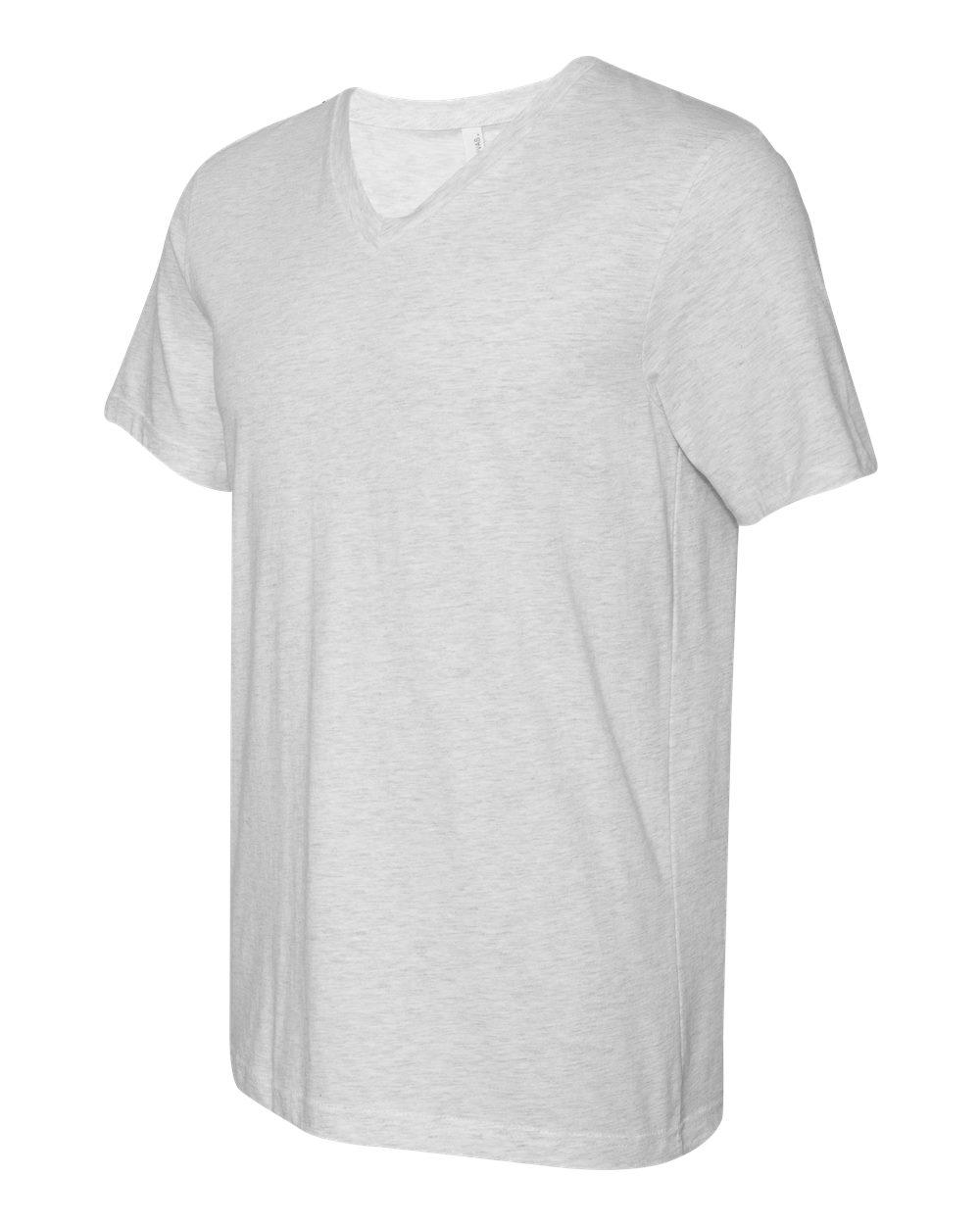 Bella-Canvas-Men-039-s-Jersey-Short-Sleeve-V-Neck-T-Shirt-3005-XS-3XL thumbnail 36