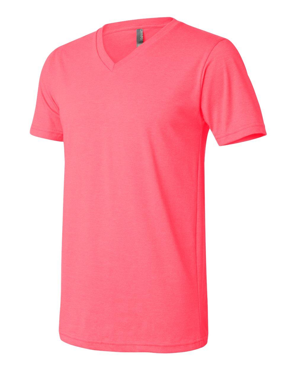 Bella-Canvas-Men-039-s-Jersey-Short-Sleeve-V-Neck-T-Shirt-3005-XS-3XL thumbnail 12