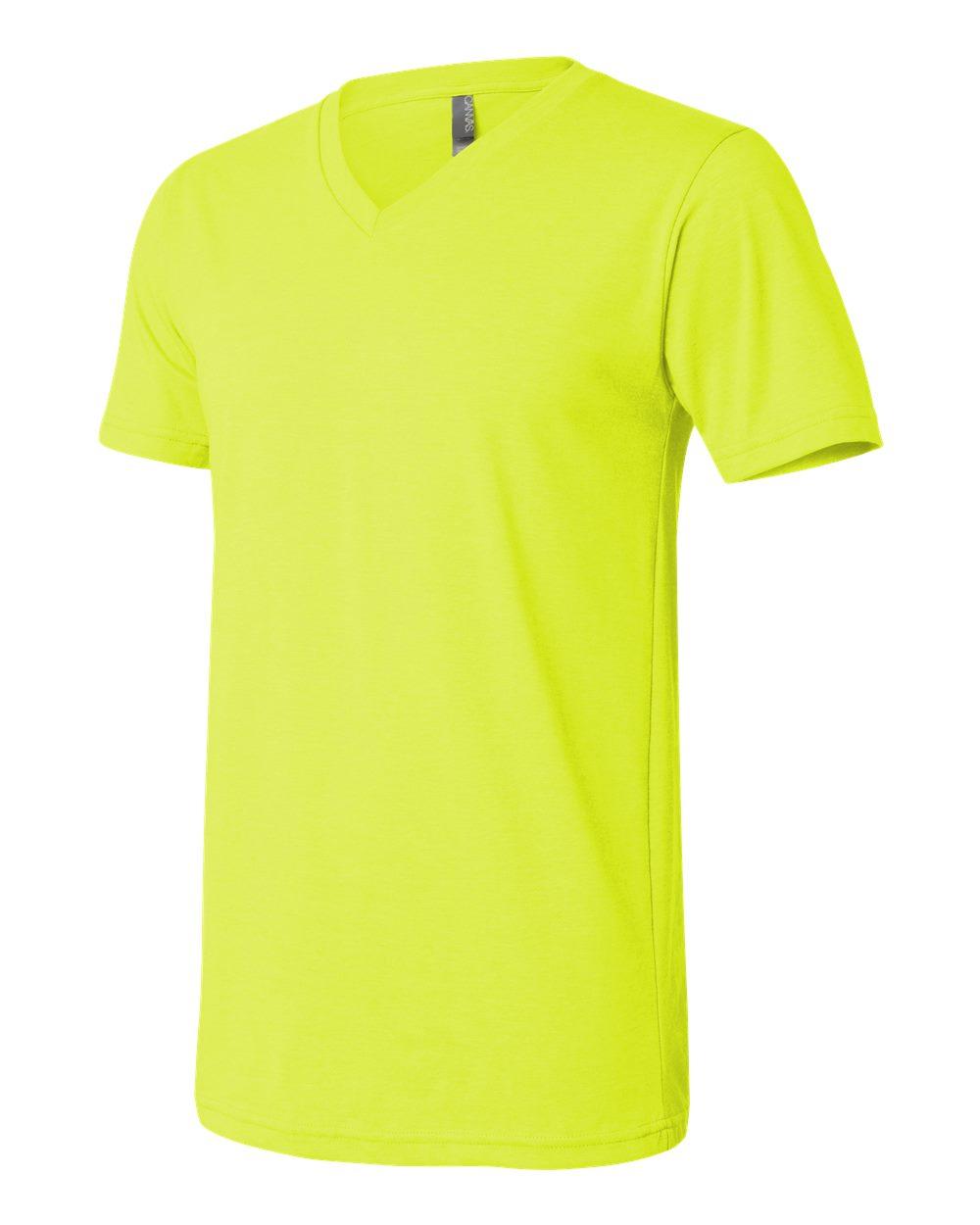 Bella-Canvas-Men-039-s-Jersey-Short-Sleeve-V-Neck-T-Shirt-3005-XS-3XL thumbnail 15