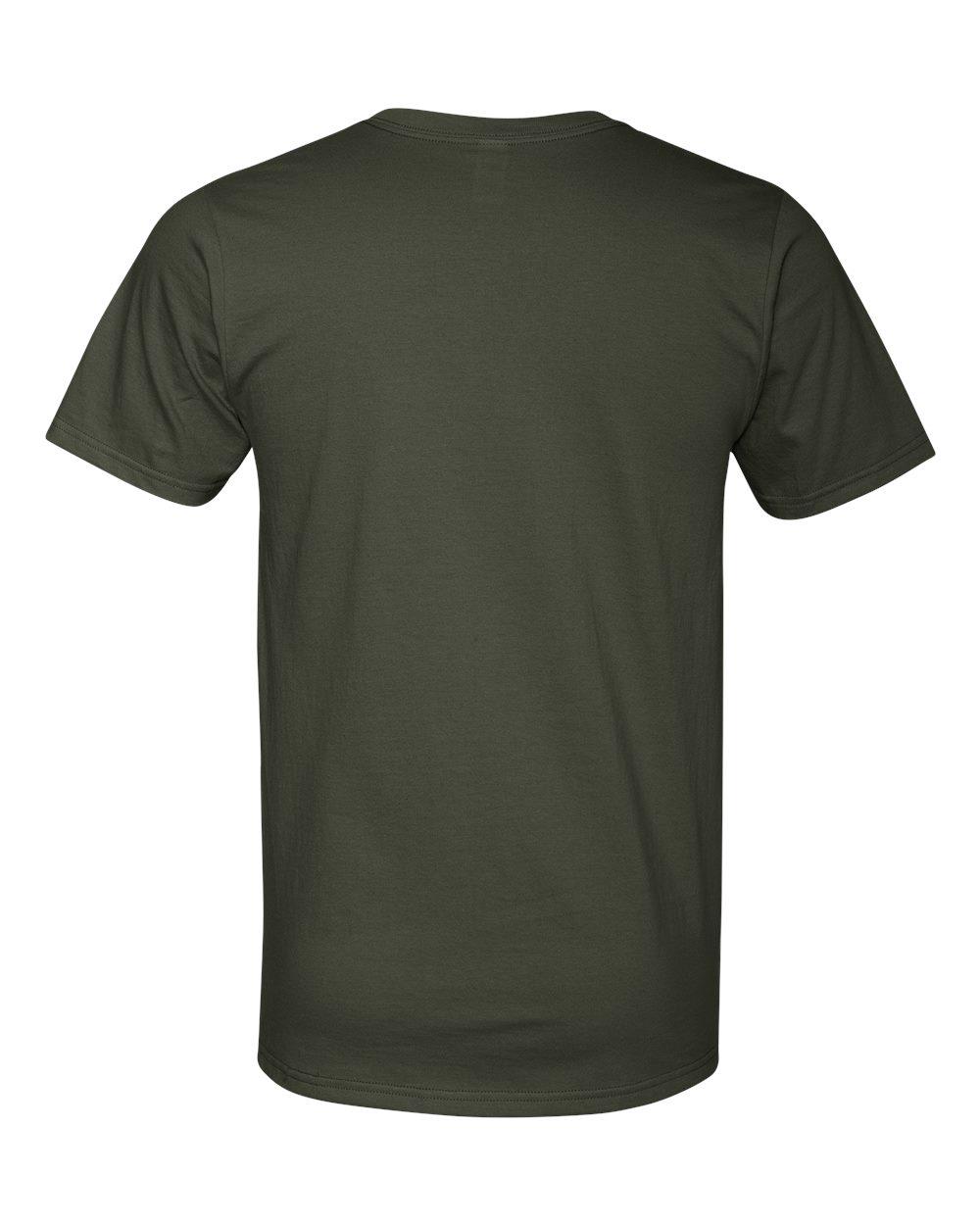 Anvil-Men-039-s-Lightweight-V-Neck-T-Shirt-982-S-3XL thumbnail 10