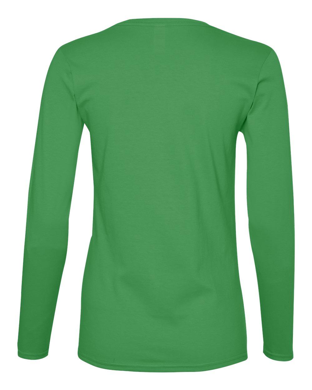 Anvil-Womens-Lightweight-Long-Sleeve-T-Shirt-884L-Size-S-2XL thumbnail 11