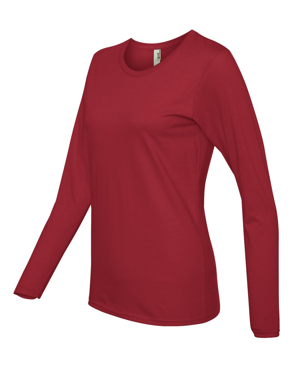 Anvil-Womens-Lightweight-Long-Sleeve-T-Shirt-884L-Size-S-2XL thumbnail 19