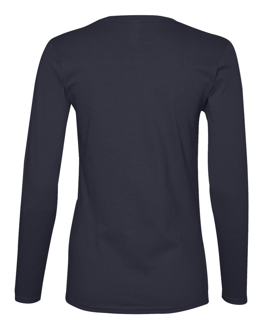 Anvil-Womens-Lightweight-Long-Sleeve-T-Shirt-884L-Size-S-2XL thumbnail 23