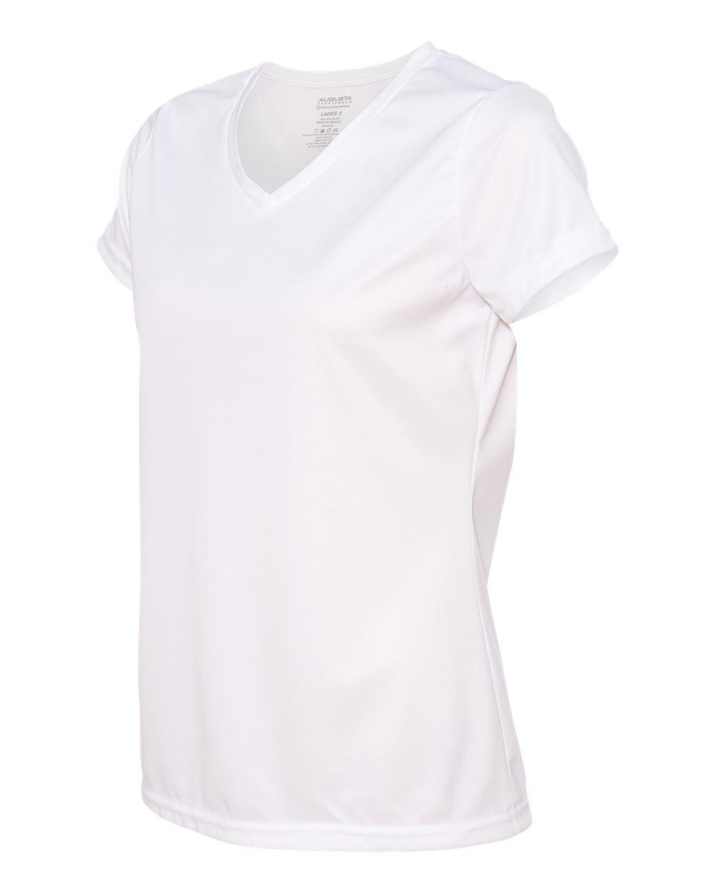 Augusta-Sportswear-Women-039-s-Moisture-Wicking-V-Neck-T-Shirt-1790-XS-2XL thumbnail 33