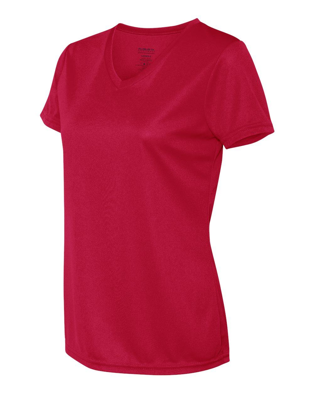 Augusta-Sportswear-Women-039-s-Moisture-Wicking-V-Neck-T-Shirt-1790-XS-2XL thumbnail 27