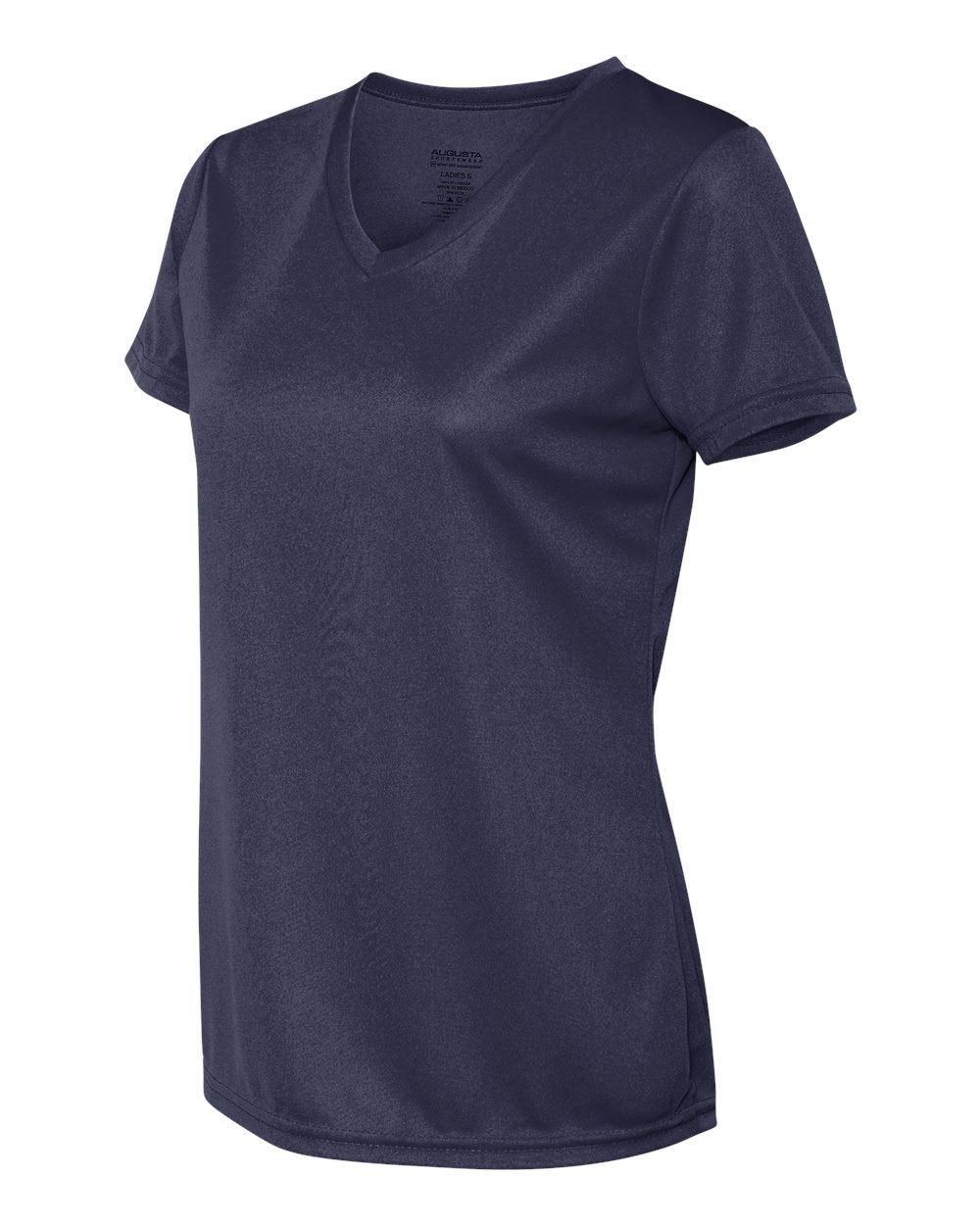 Augusta-Sportswear-Women-039-s-Moisture-Wicking-V-Neck-T-Shirt-1790-XS-2XL thumbnail 15