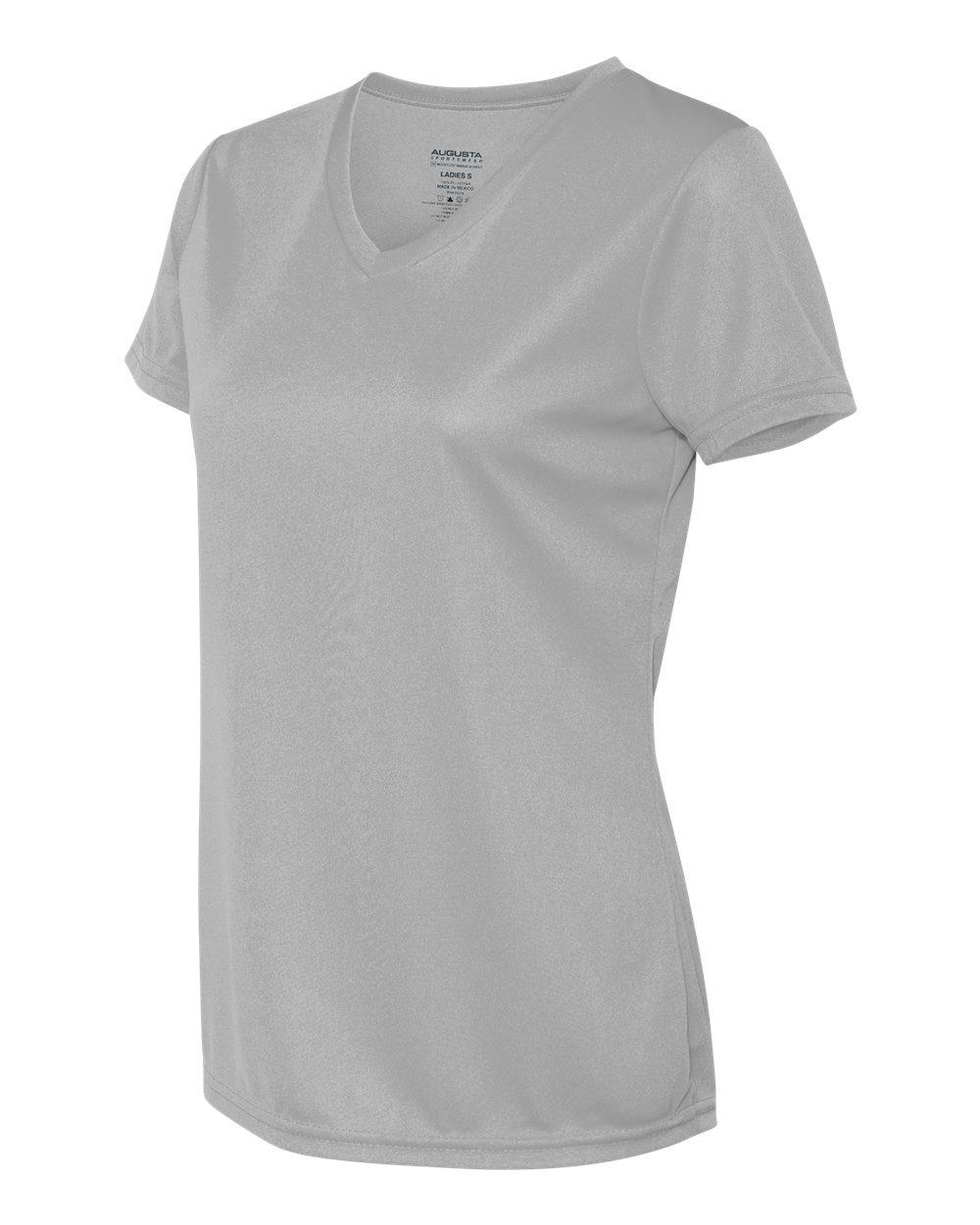 Augusta-Sportswear-Women-039-s-Moisture-Wicking-V-Neck-T-Shirt-1790-XS-2XL thumbnail 6