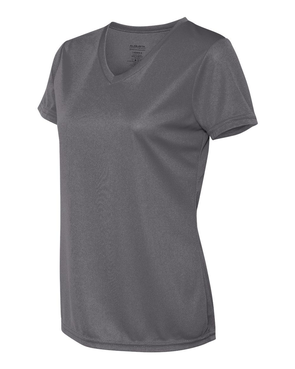 Augusta-Sportswear-Women-039-s-Moisture-Wicking-V-Neck-T-Shirt-1790-XS-2XL thumbnail 12