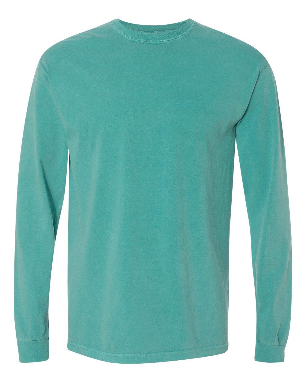 Comfort Colors 6.1 Ounce Ringspun Cotton Long Sleeve T-shirt 6014 ...