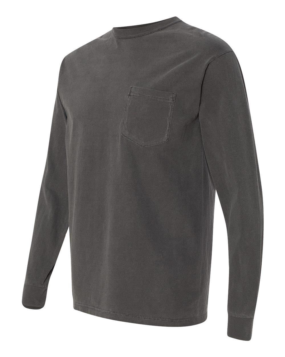 Comfort-Colors-Men-039-s-6-1-oz-Long-Sleeve-Pocket-T-Shirt-C4410-S-3XL thumbnail 32