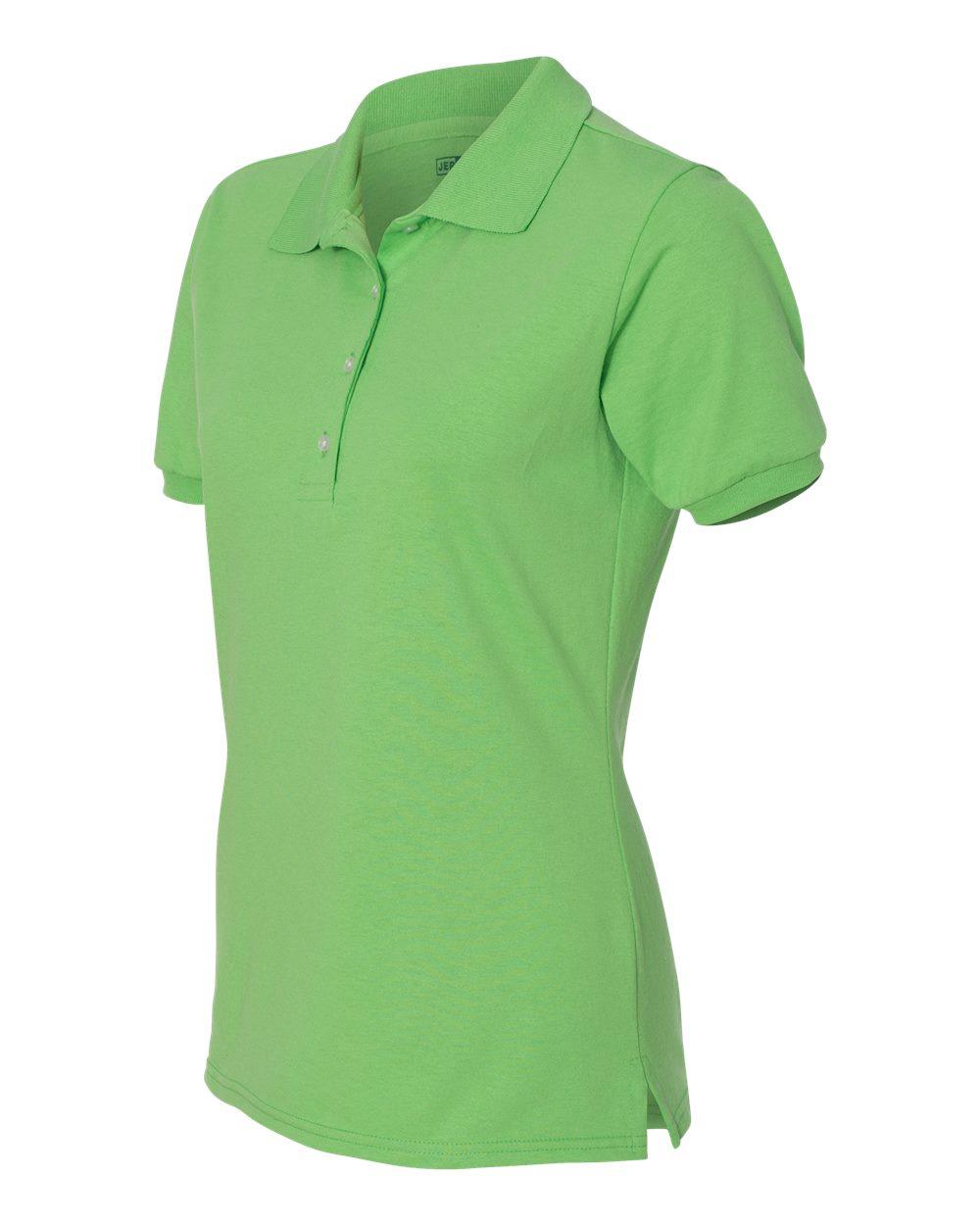 Jerzees-Womens-5-6-oz-50-50-Jersey-Polo-with-Spot-Shield-437W-Size-S-2XL thumbnail 36