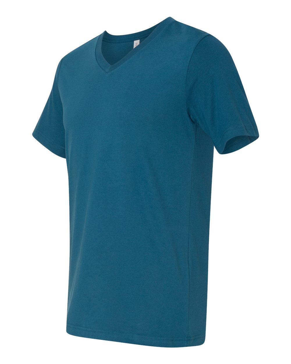 Bella-Canvas-Men-039-s-Jersey-Short-Sleeve-V-Neck-T-Shirt-3005-XS-3XL thumbnail 67