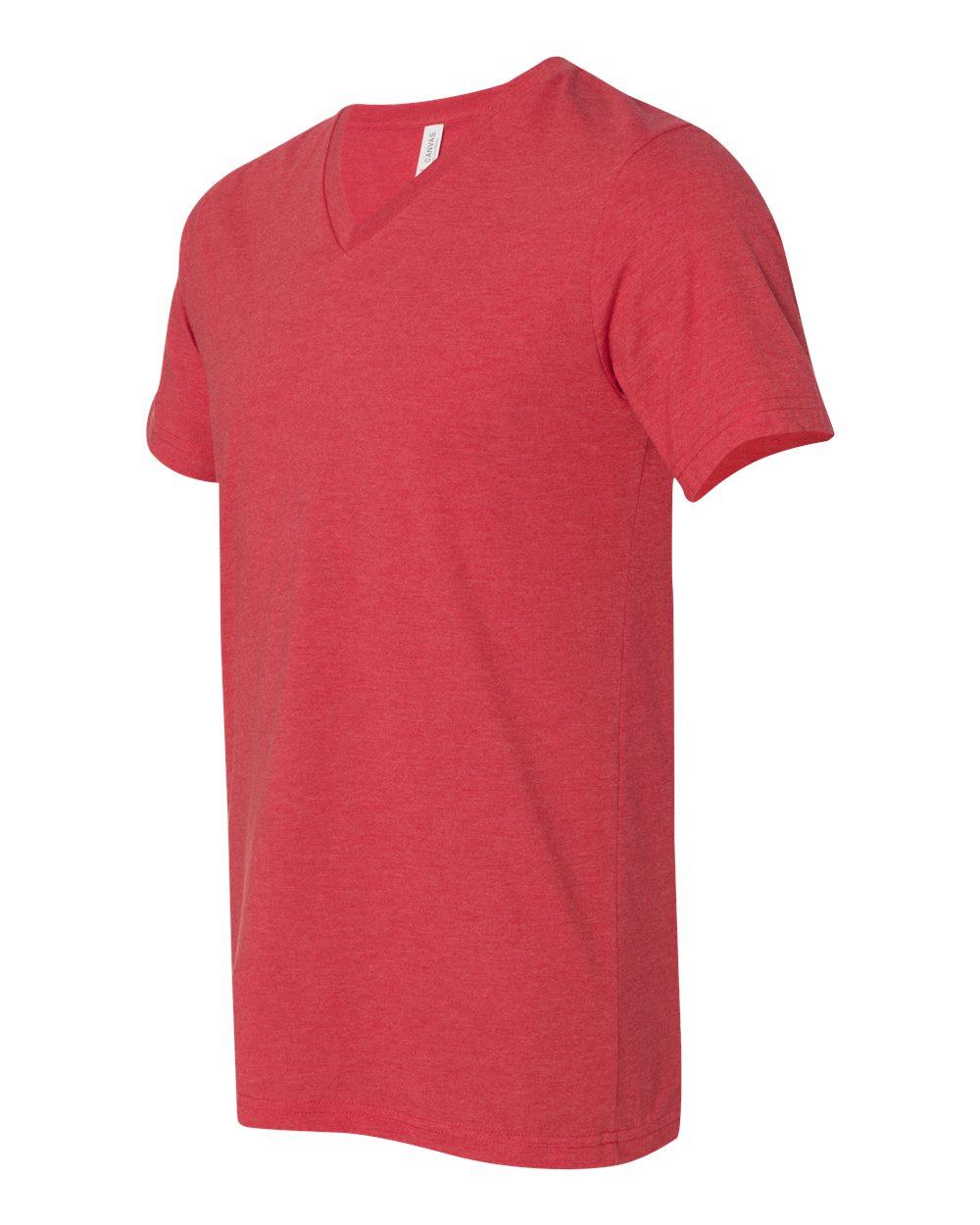 Bella-Canvas-Men-039-s-Jersey-Short-Sleeve-V-Neck-T-Shirt-3005-XS-3XL thumbnail 118