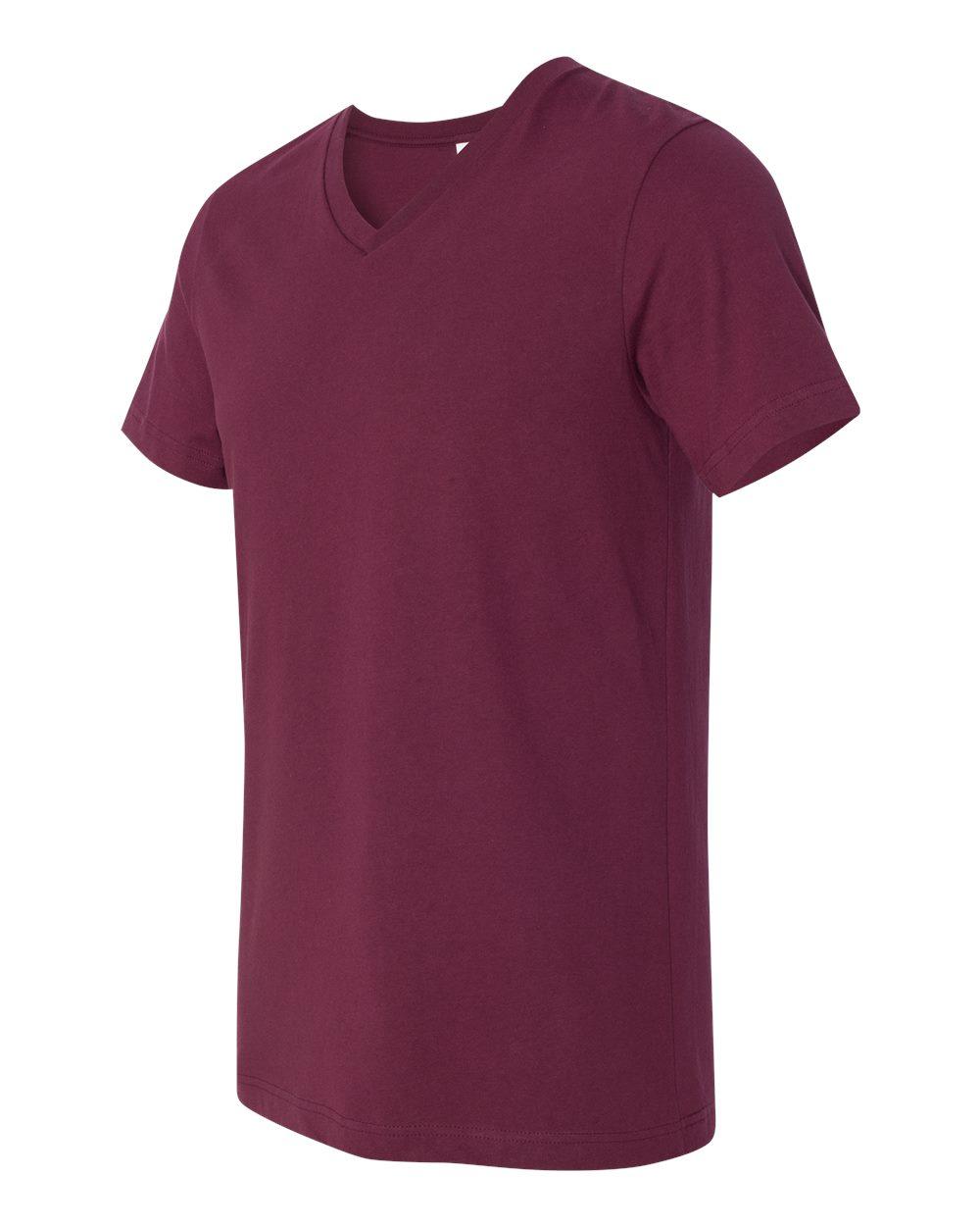 Bella-Canvas-Men-039-s-Jersey-Short-Sleeve-V-Neck-T-Shirt-3005-XS-3XL thumbnail 88